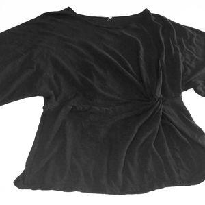 Lush knot front tunic